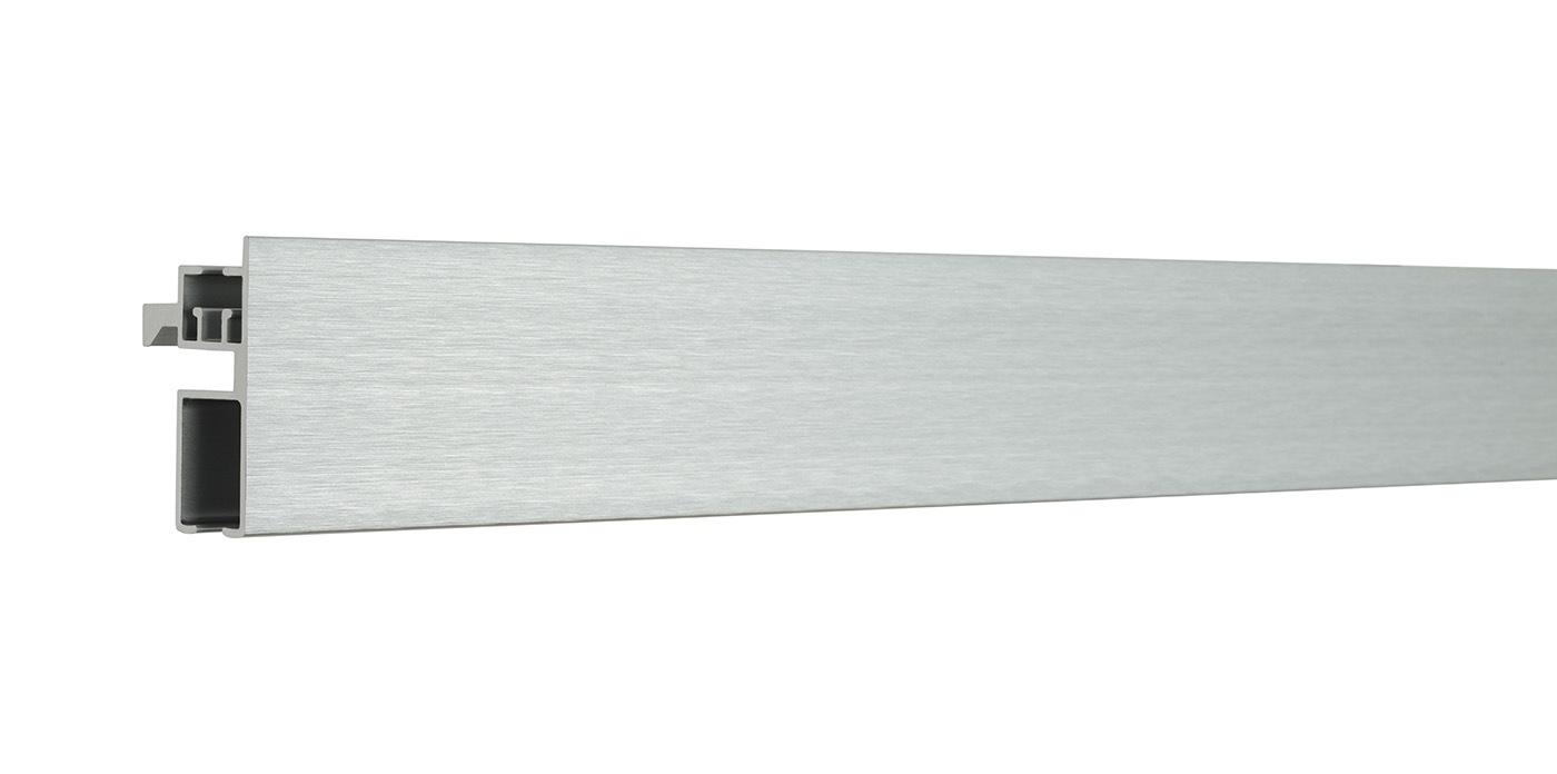 Houl s rail plat 180cm bross mat cosmo 64401 57 fr fr for Tringlerie porte fenetre