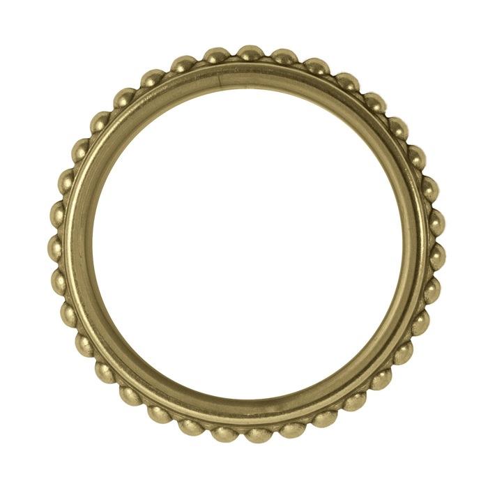 Houl s anneau godron laiton 40mm palace laiton for Tringlerie porte fenetre